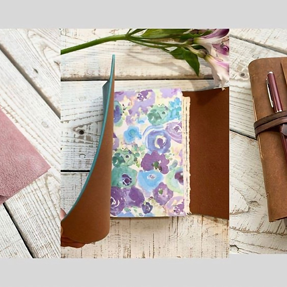 Refillable Leather Journal Workshop