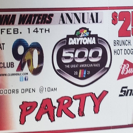Jim and Donna Waters Annual Daytona 500 Party