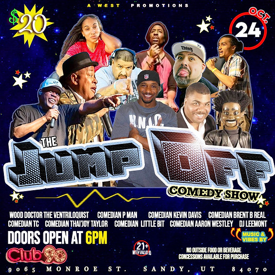 """The """"Jump Off"""" Comedy Show"""