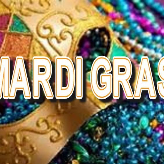MARDI GRAS PARTY & CONTEST