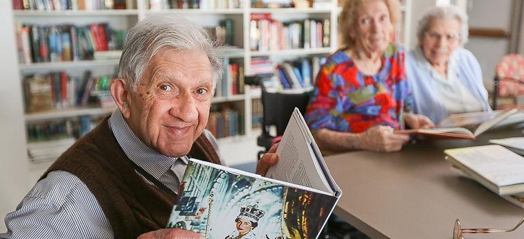 Book Club at Chaffey Aged Care
