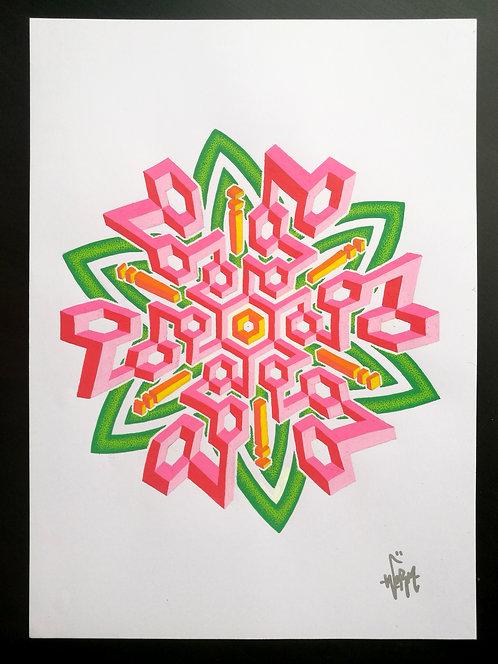 """Spring be like"" original drawing"