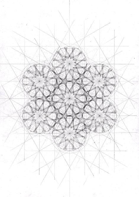 """""""Blueprint"""" A4 print"""