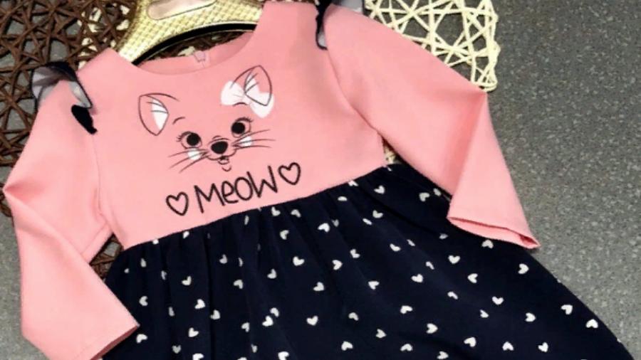 Платье MEOW детское
