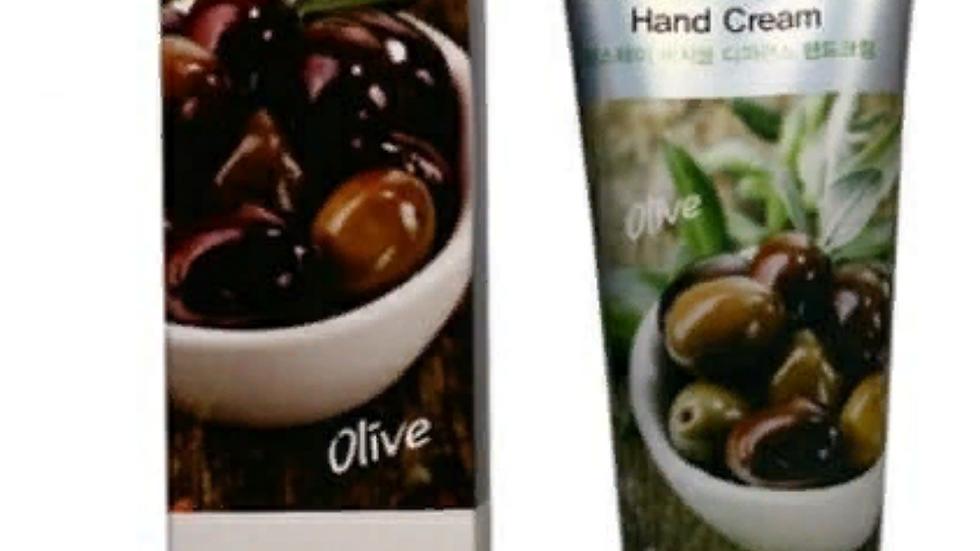Пребывание на ферме крем для рук с оливкой