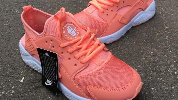 Кроссовки Nike Huarache оранжевые