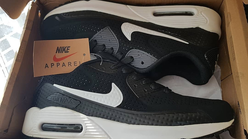 Кроссовки Nike Air Max 90 черно белые