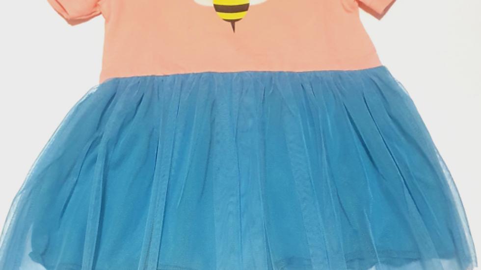 Платье для девочек с пчелкой