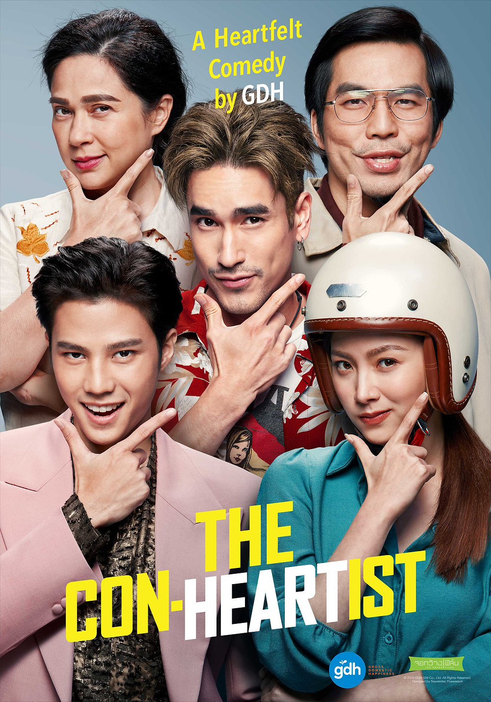 Promotional poster for the movie 'The Con-Heartist'