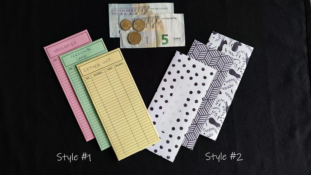 free printable cash envelopes