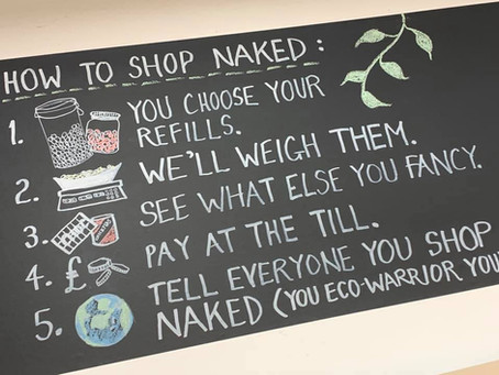 Naked Refills opens for in-store shopping on the 12th April!