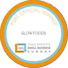 Glow Foods wins Theo Paphitis' #SBS Award!