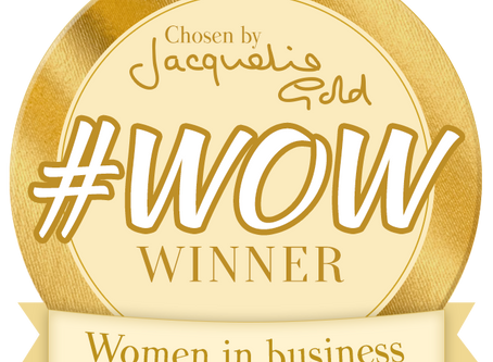 Glow Foods wins Jacqueline Gold's #WOW award!