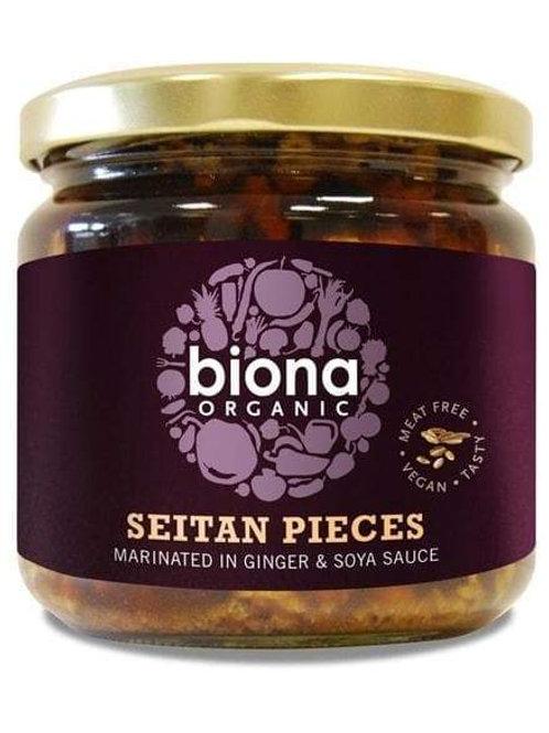 Organic Seitan in Soya Sauce & Ginger - 340g