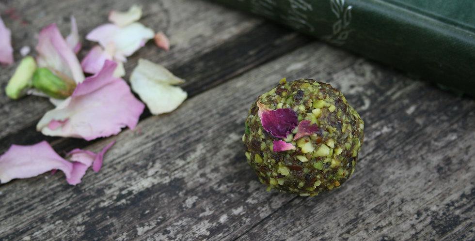 Pistachio Rose energy balls (n) - 12pk