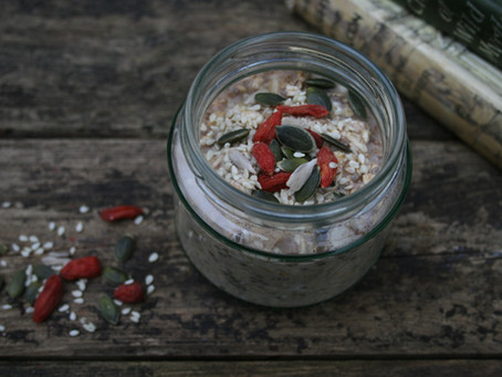 So what exactly are overnight oats?!  A quick history lesson.