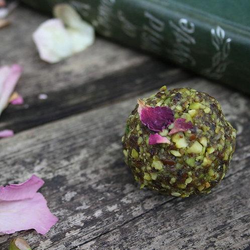 Pistachio Rose energy balls