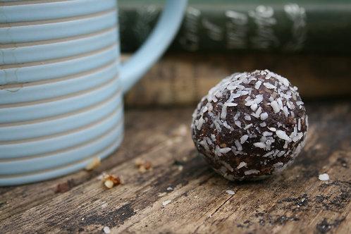 Cacao Tahini energy balls