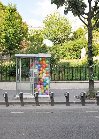 heidi moriot/artiste/installation/paris/soulac/ballons