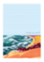 heidi moriot/artiste/illustrations/crate postales/soulac sur mer/médoc