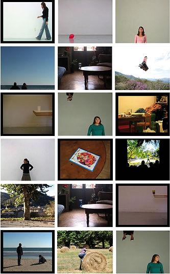 heidi moriot/artiste/vidéos/ballon/gobelets/kind of conversation/paris/soulac sur mer