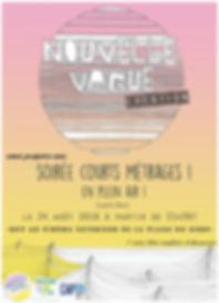 nouvelle vague surf school/ nouvelle vague creation/ soirées cinéma/ gurp/cap33/grayan et l'hopital