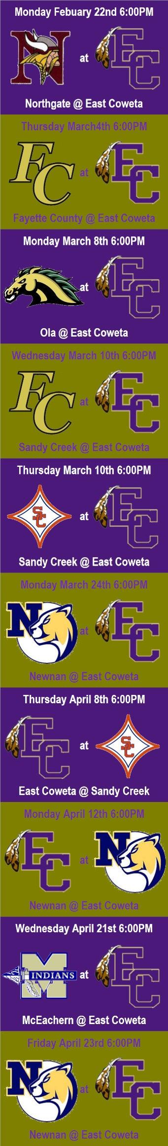 East Coweta Baseball schedule.jpg