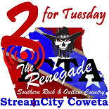 2 for tuesday the renagade logo.png