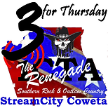 3 for thursday the renagade logo.png