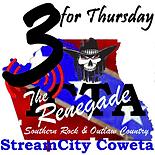 3 for thursday the renagade logo.png