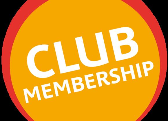 Adult Club Membership (12 Months)