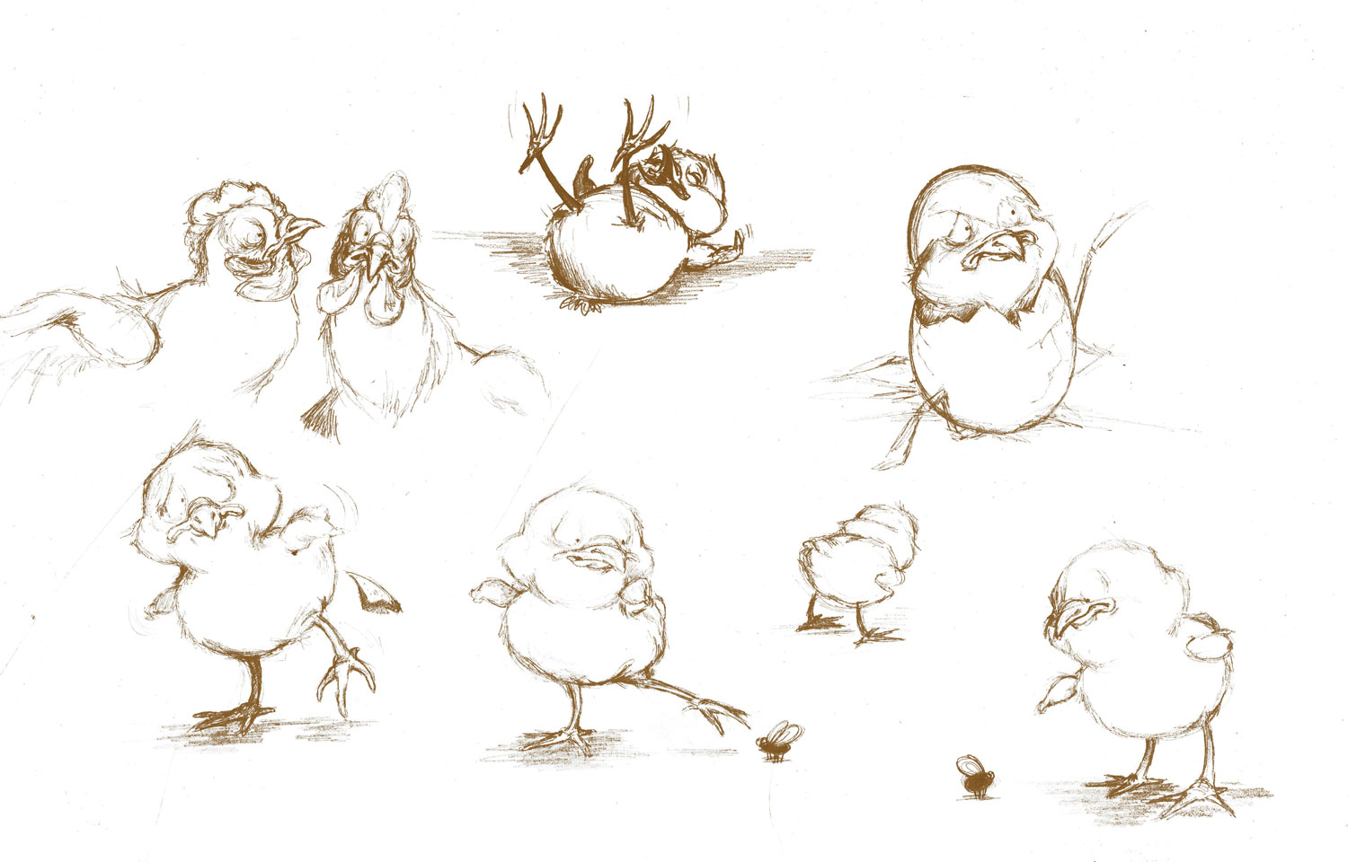 chick character studies