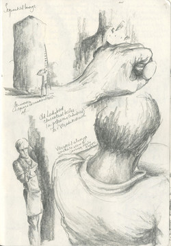 Stone sculpting sequence (i)