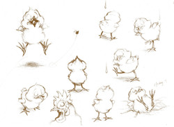more chick character studies