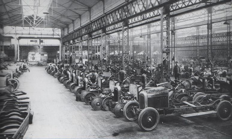Evolución Reciente de la Industria Automotriz
