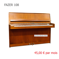 LES SALONS DU PIANO FAZER108