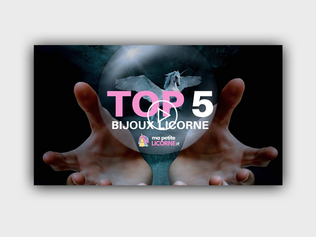 TOP 5 DES BIJOUX LICORNE