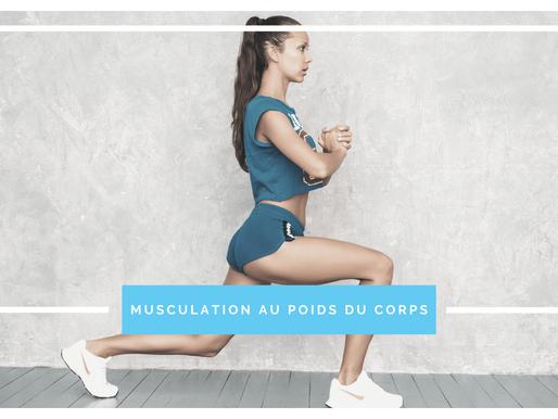 La musculation au poids du corps est-ce efficace ?