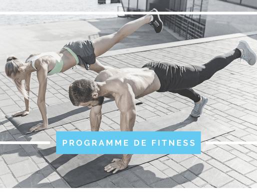 Les bénéfices d'un programme de fitness