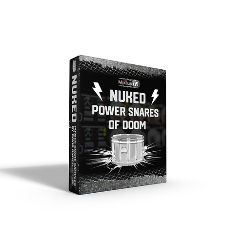 NUKED! MixbusTv David's Power Snares Samples Collection