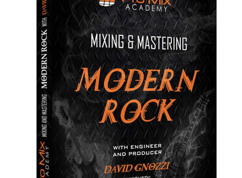 Mixing Mastering Modern Rock New Course