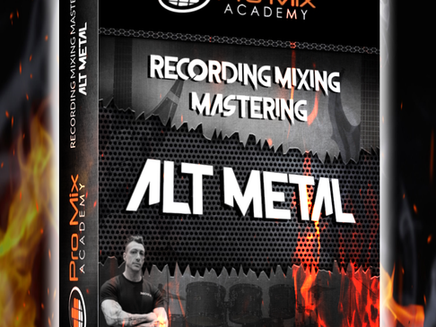 David's New METAL Course on ProMix Academy