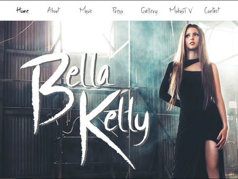 Bella Kelly Official Website is up!