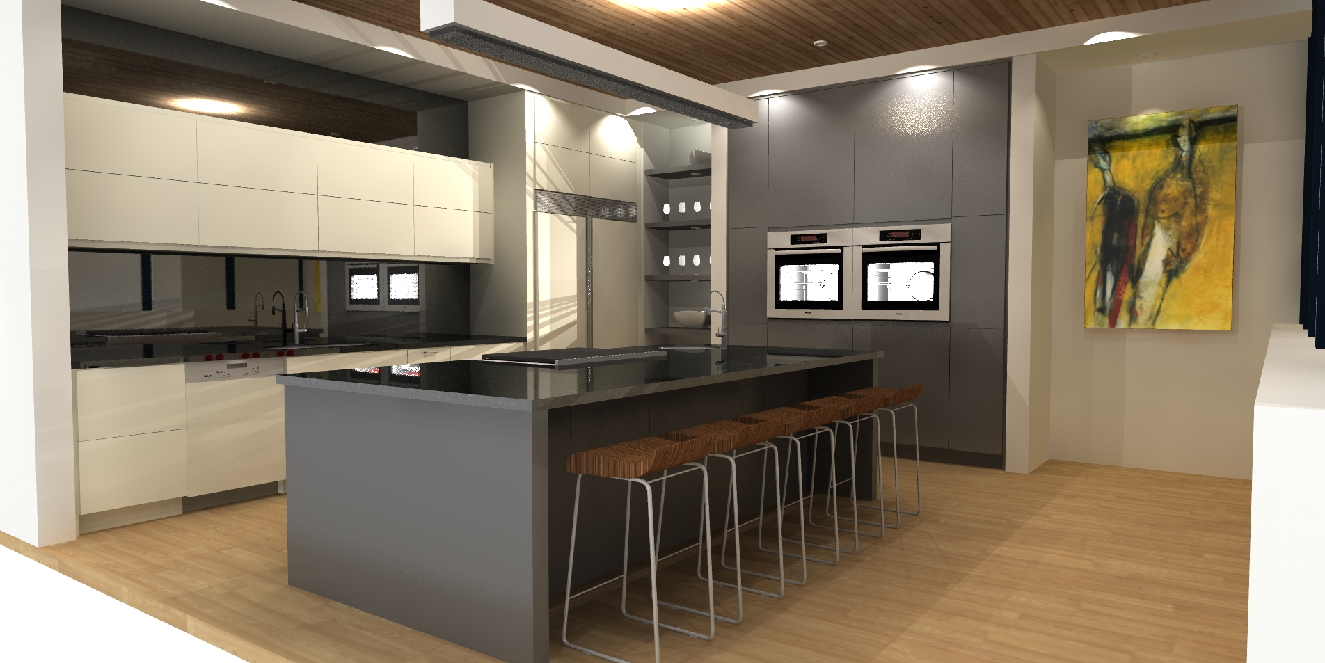 Raymar Place Kitchen Rendering
