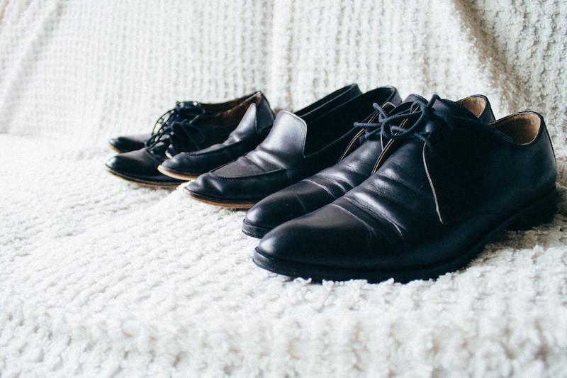 A Closet: Footwear Choices