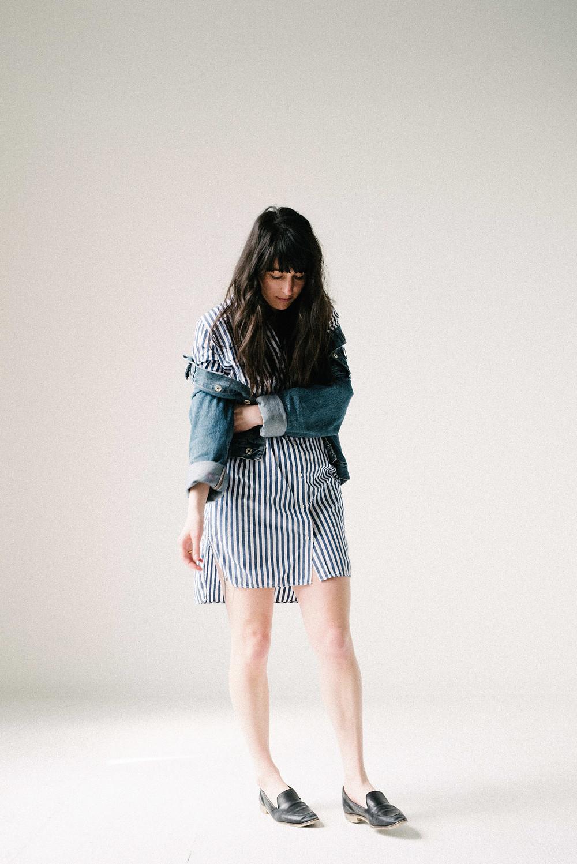A Lasting Closet - Everlane Shirtdress Review