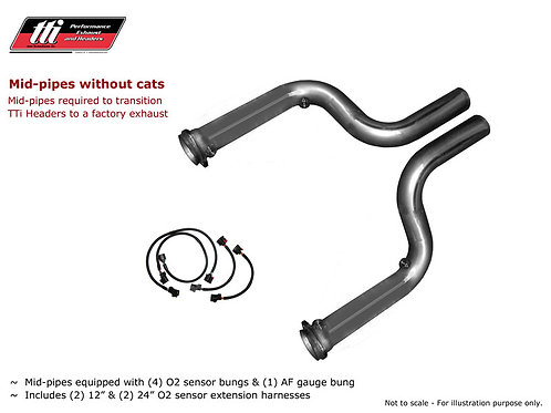 TTI Cat-Eliminated Mid Pipes