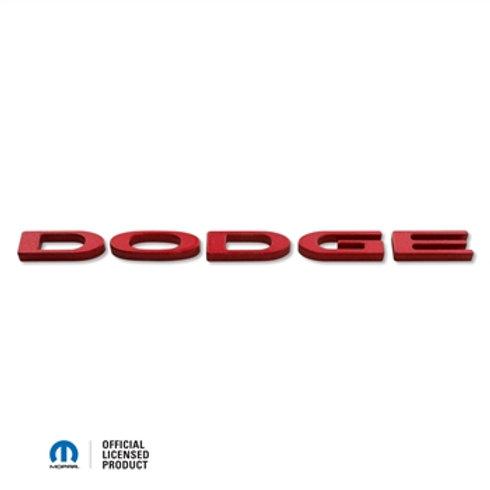 """2015-UP DODGE CHALLENGER """"DODGE LOGO"""" EXTERIOR TRUNK BADGE ABD-3222"""