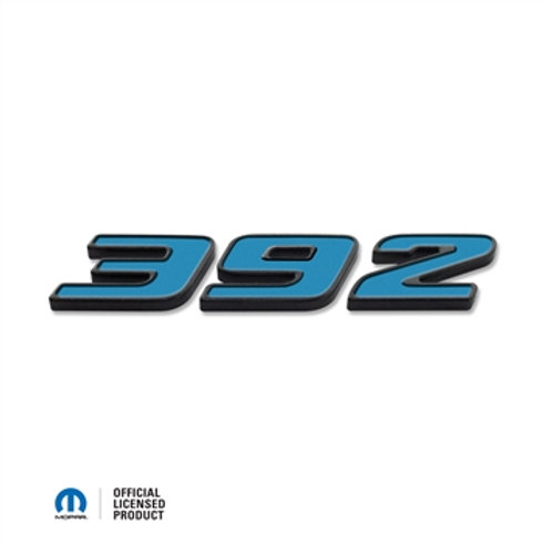 "2015-UP DODGE CHALLENGER ""392"" EXTERIOR BADGE ABD-3224"