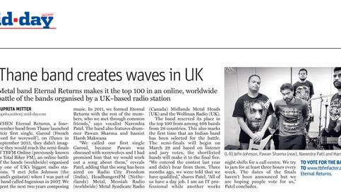 Eternal Returns creates waves in UK
